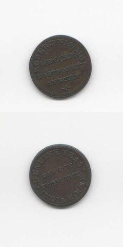 1800 Edinburgh GVF Tokens 18/19 Th Century Scottish