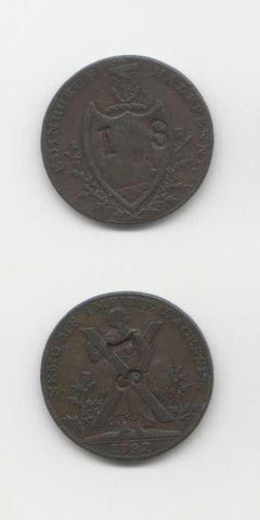 1792 Edinburgh GVF Tokens 18/19 Th Century Scottish