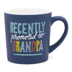 Promoted To Grandpa Matte Mug