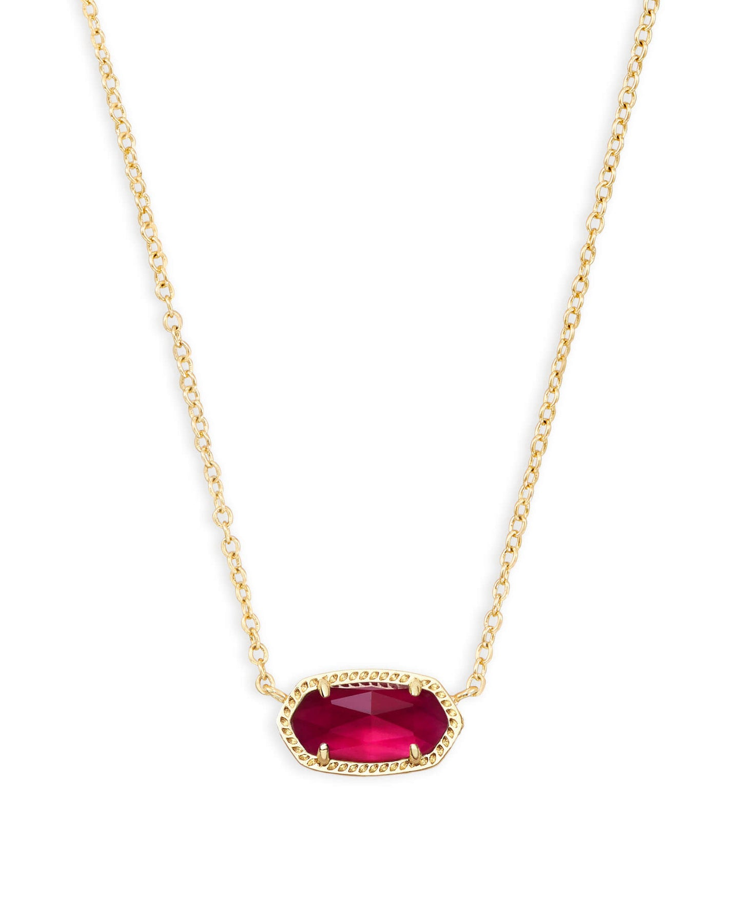 Kendra Scott Elisa Necklace - Gold Berry Illusion