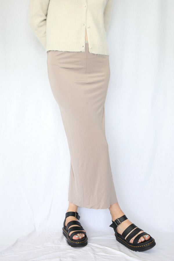 Stretchy Slip Skirt