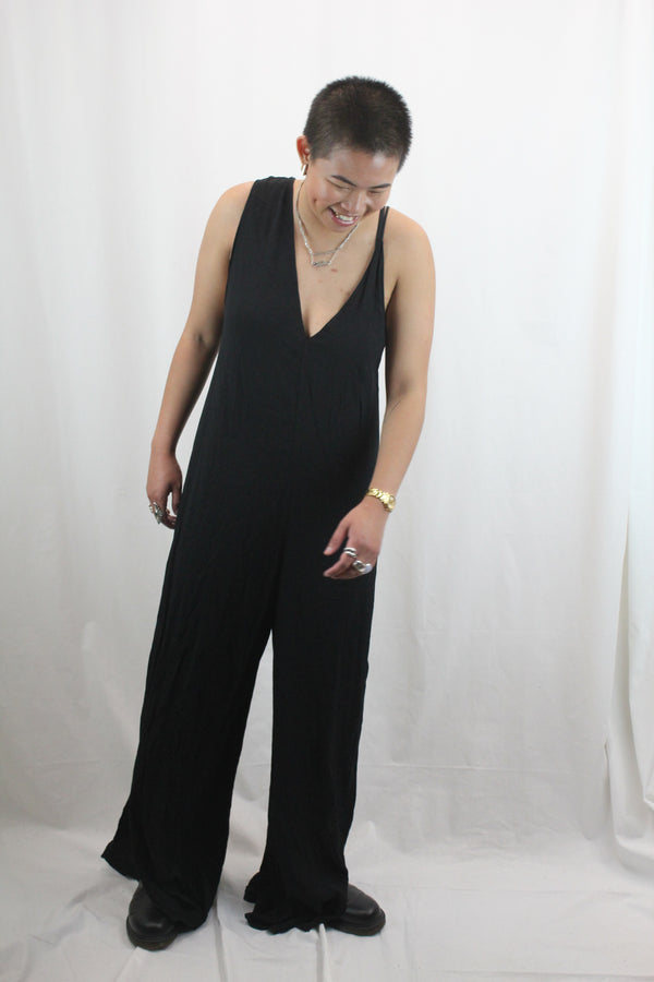 Asymetric Wide Leg Jumpsuit