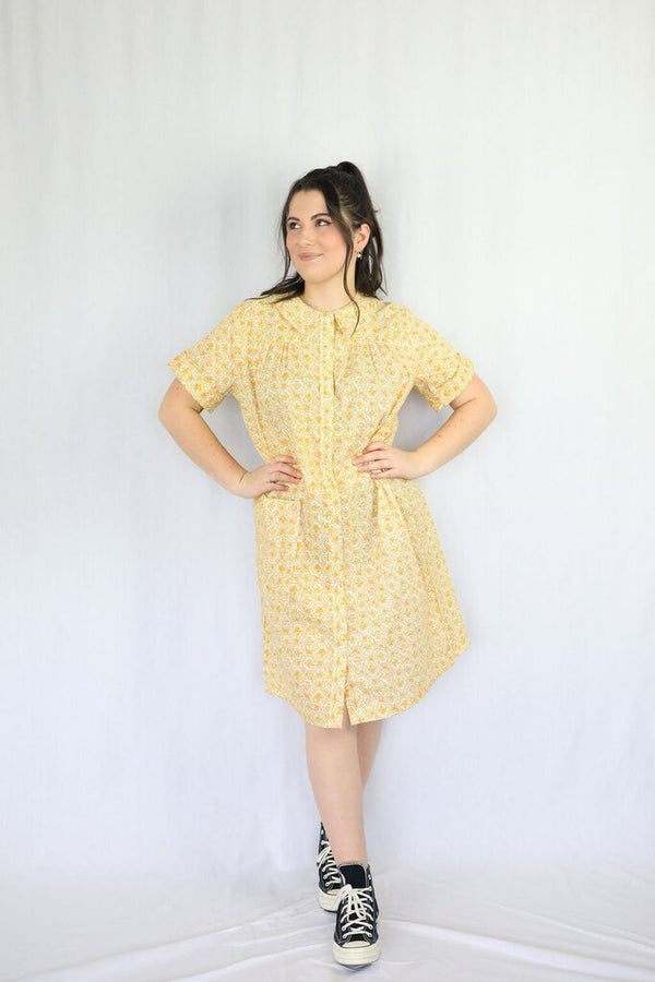 Retro babydoll dress
