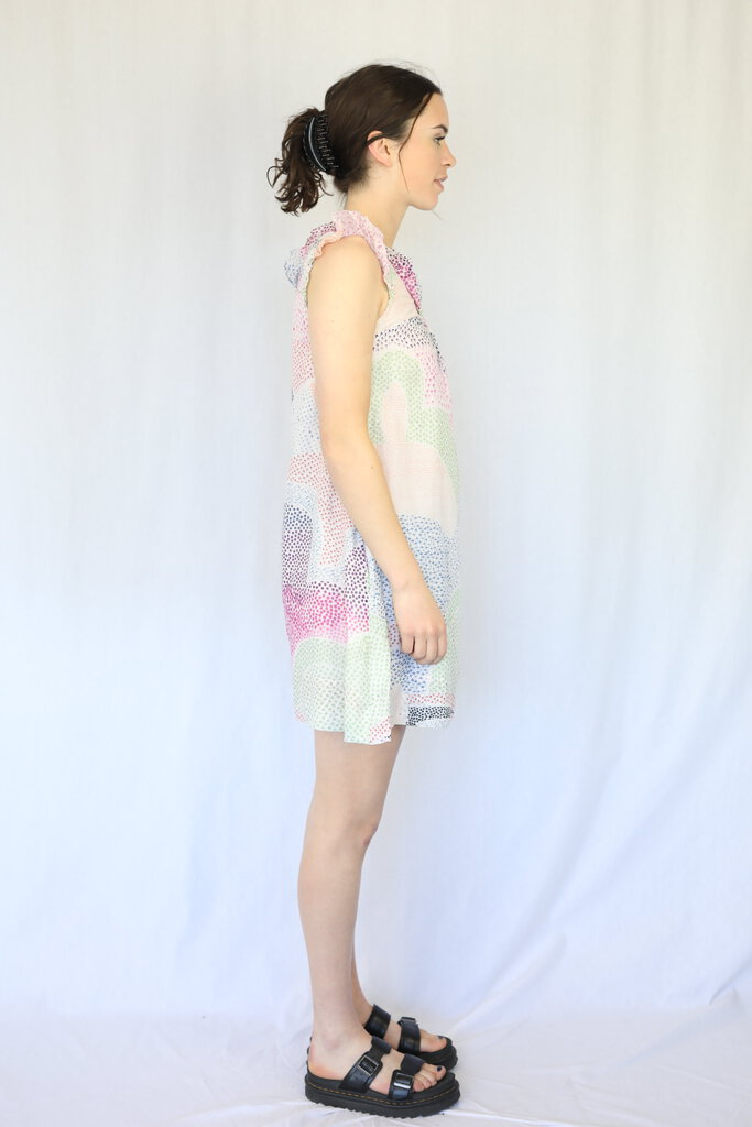 Colourful Printed Summer Dress