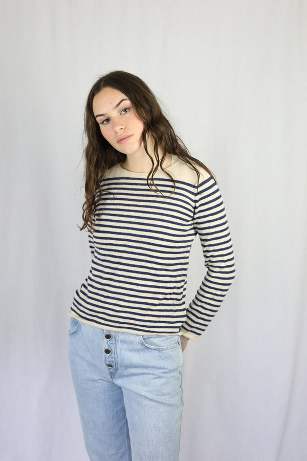 Wool Striped Knit