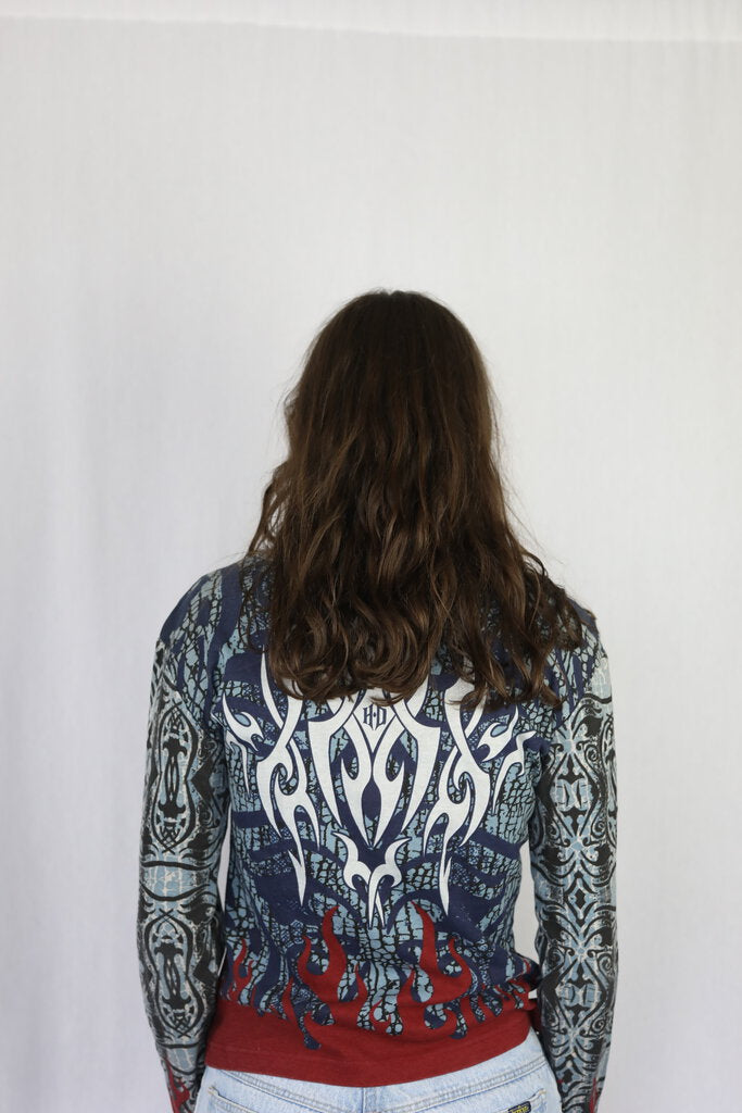 Tribal Pattern Graphic Top