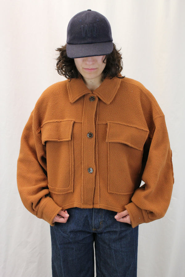 Fleece Crop Jacket