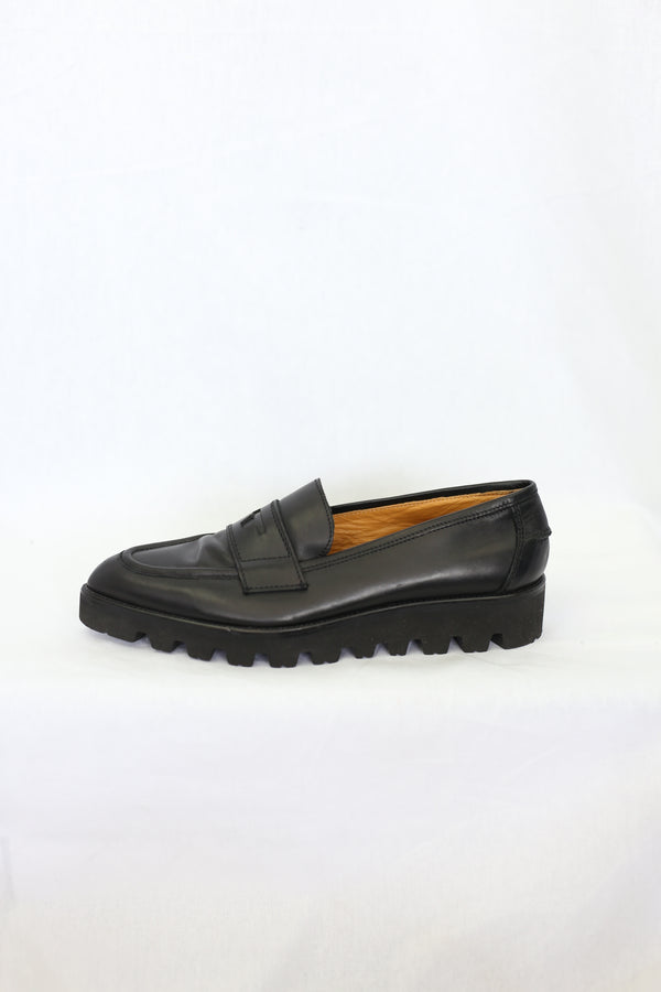 Leather Pointed Toe Loafer