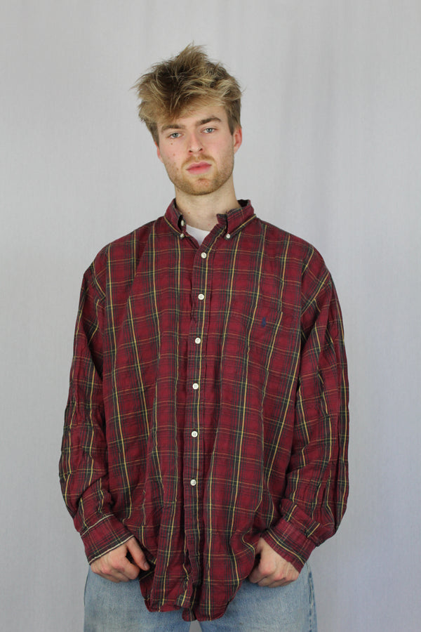 Ralph Lauren plaid flannel shirt