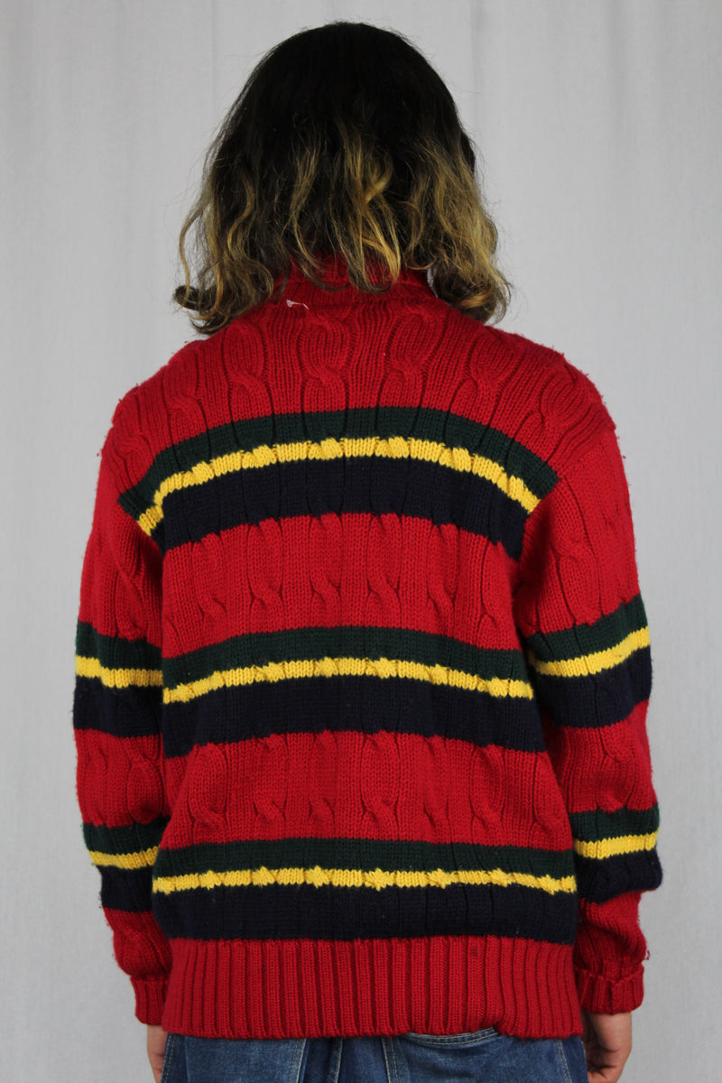 Wool Cable Knit Jumper