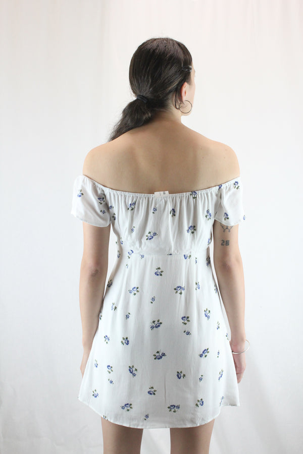 Floral Off-Shoulder Sundress
