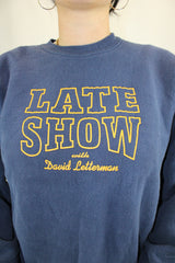 The Late Show with David Letterman Sweatshirt