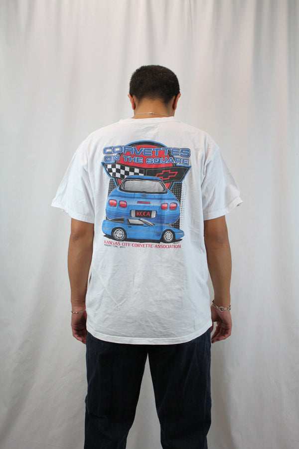 Corvettes On The Square Motorsport Tee