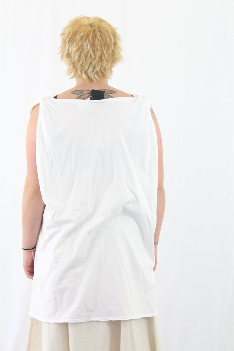 Cotton Oversized Singlet