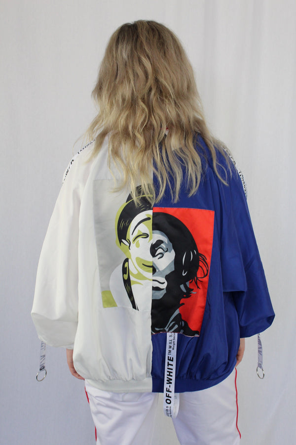 Bootleg Off White bomber
