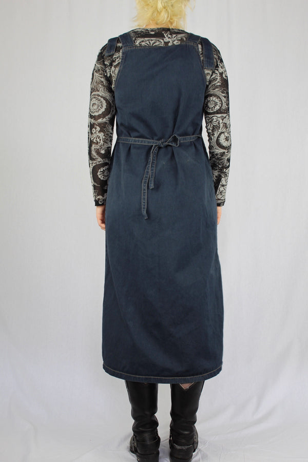 90s grunge queen pinafore dress