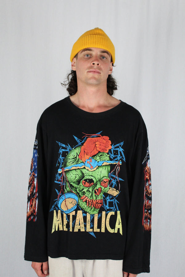 Metallica long sleeve tee