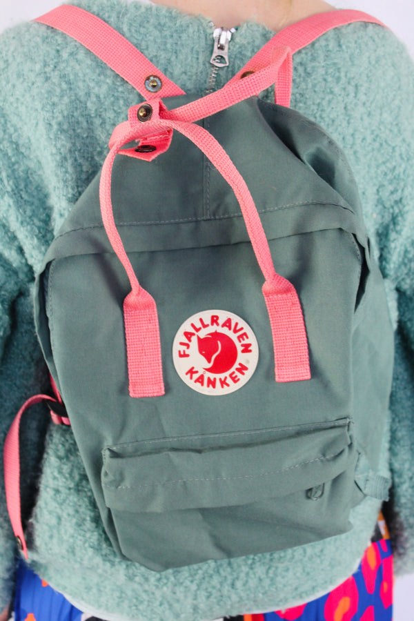 Scandi canvas backpack