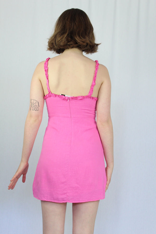 Barbie pink babydoll dress