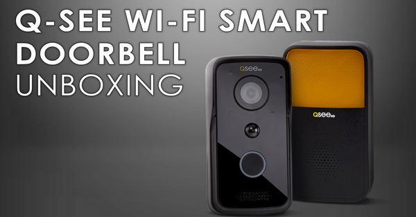 Q-See Doorbell Camera with Chime | Unboxing