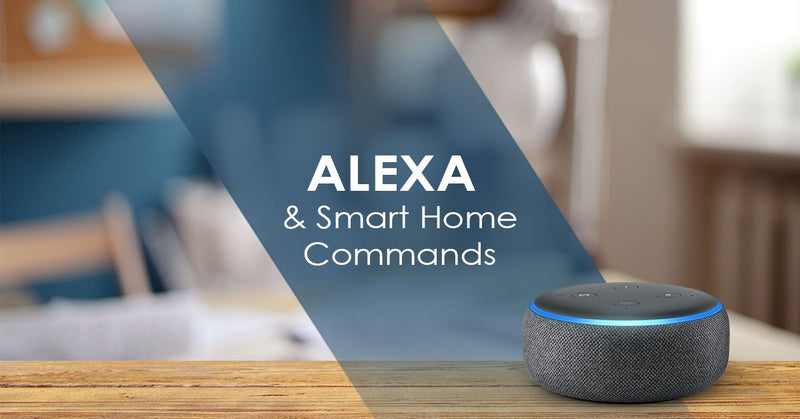 how does alexa use smart home commands