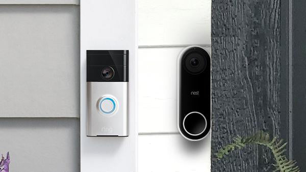 Ring vs. Nest Video Doorbell