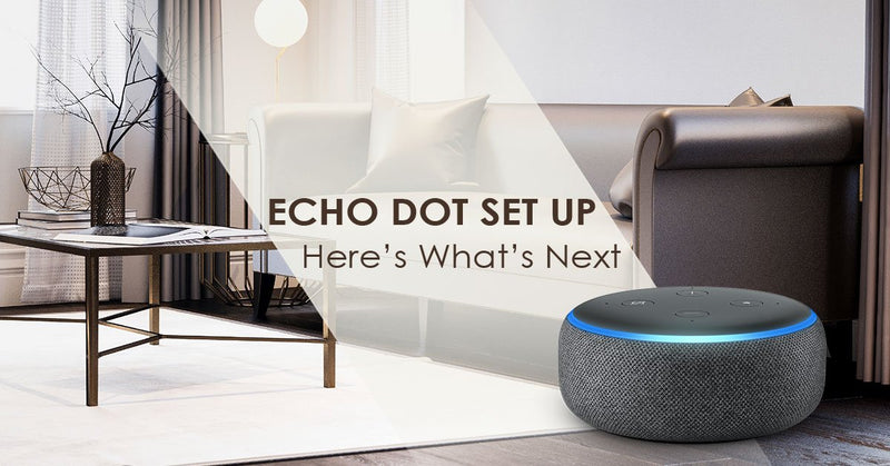 Congrats! Your Echo Dot is Set Up: Here's What's Next
