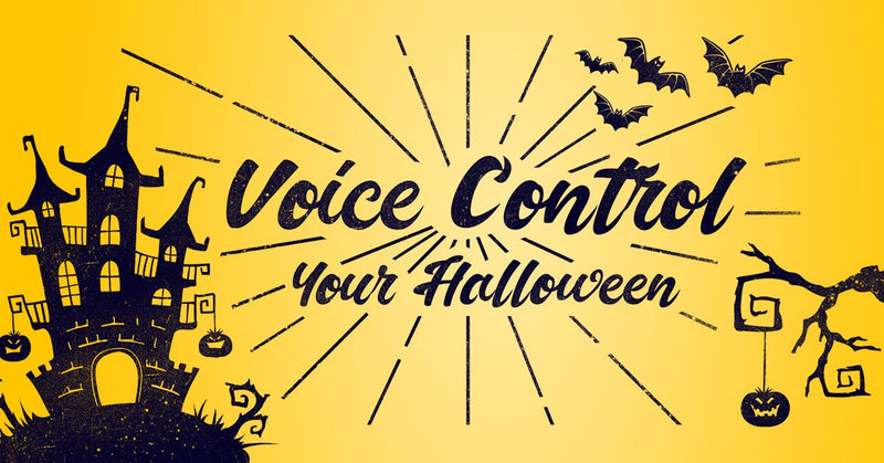 Voice Control Halloween Party