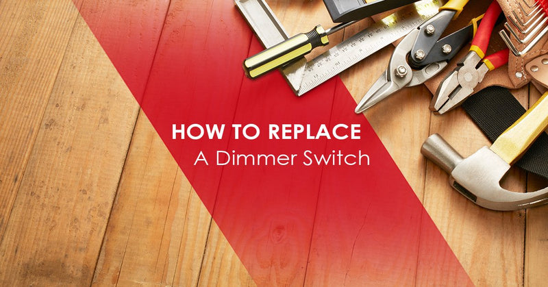 tools of how to replace a dimmer switch