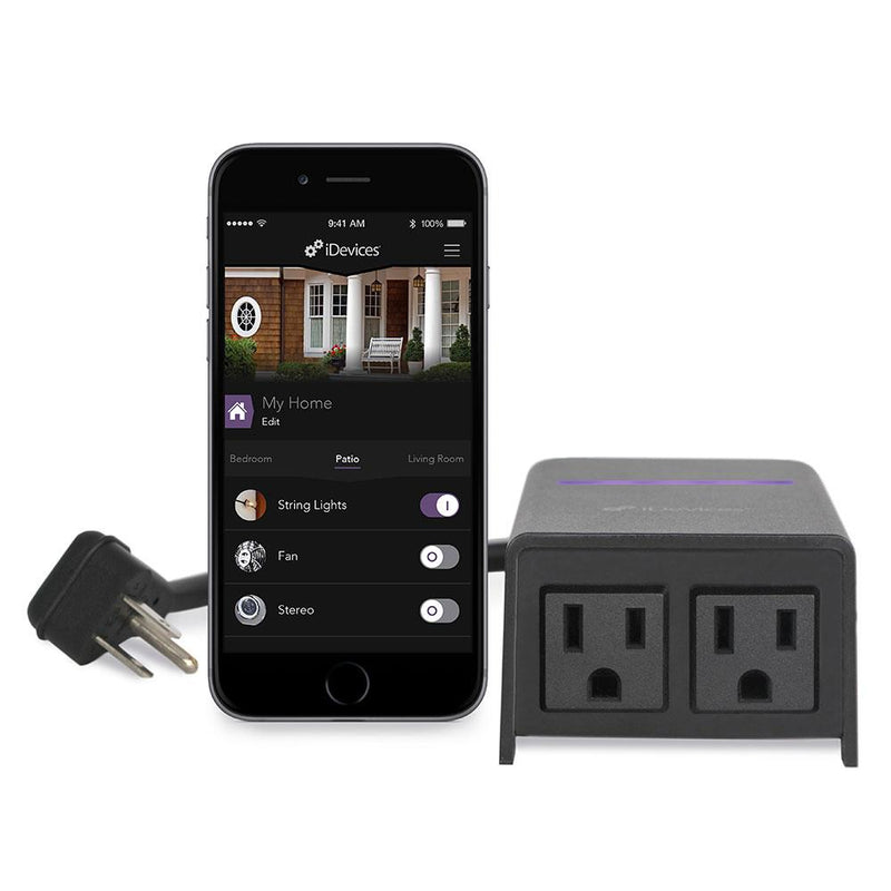 iDevices IDEV0004ANP5 Outdoor Switch with iOS app