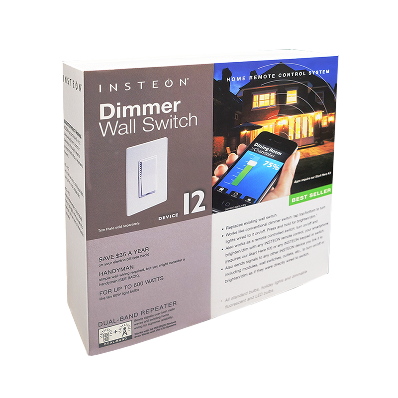 Insteon Remote Control Dimmer Switch (Retail Version)