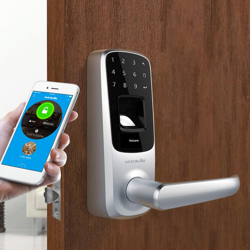 Ultraloq UL3 BT Bluetooth Enabled Fingerprint and Touchscreen Smart Lock App