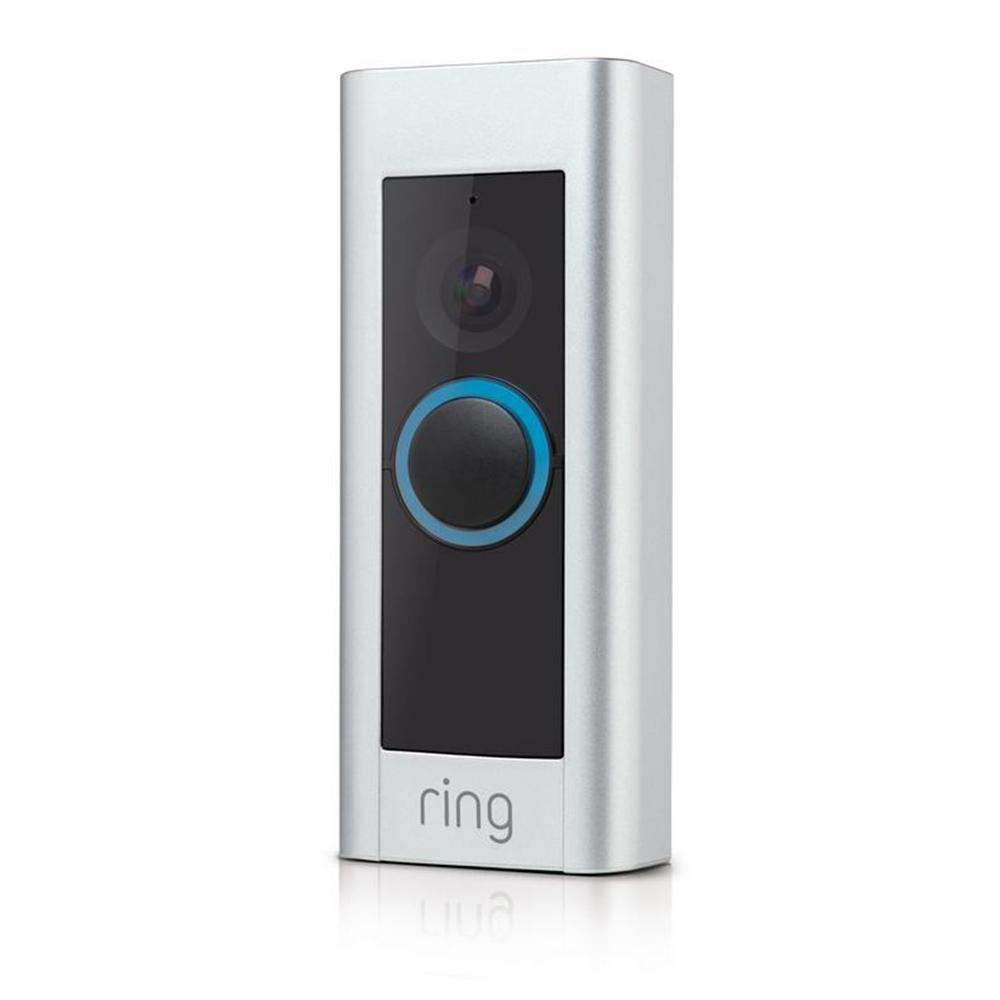 Ring doorbell front side view
