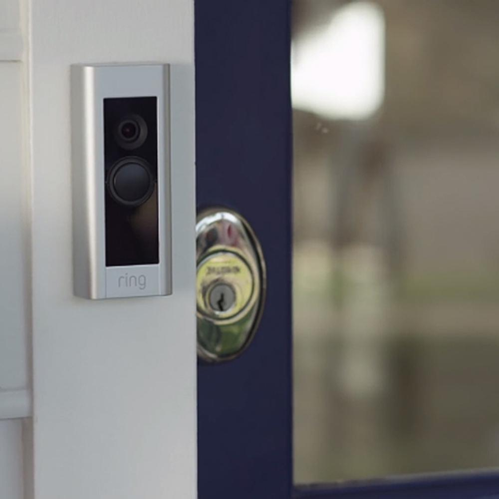 Ring doorbell decor view
