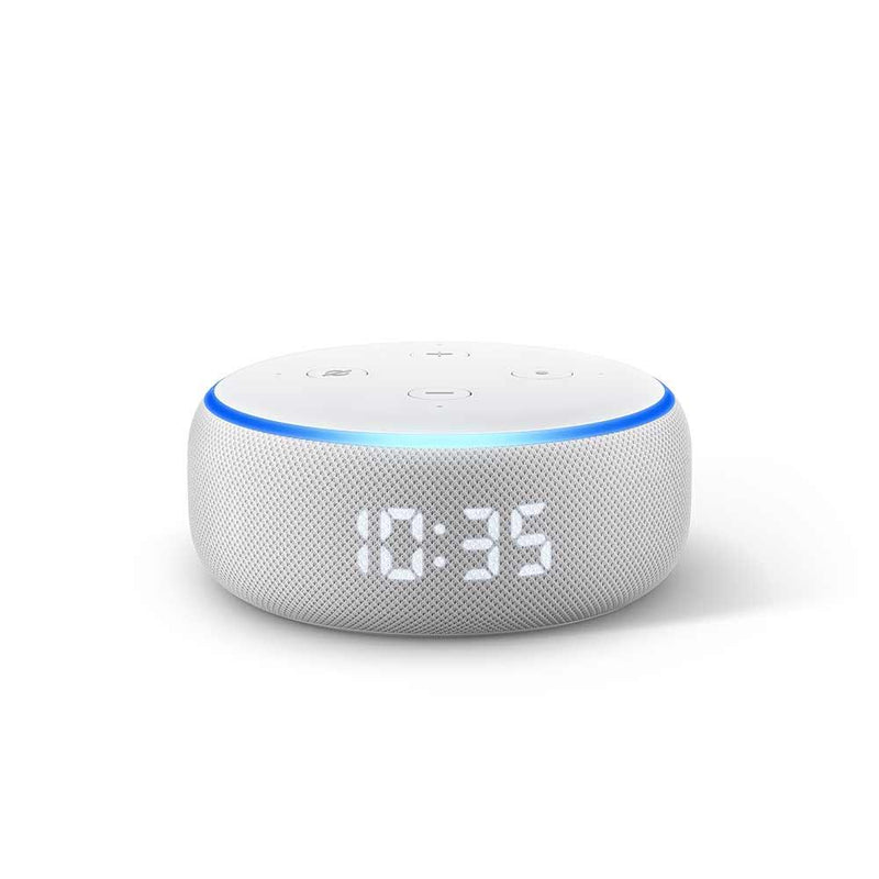 Amazon Echo Dot (3rd Gen) – Smart Speaker with Clock – Sandstone