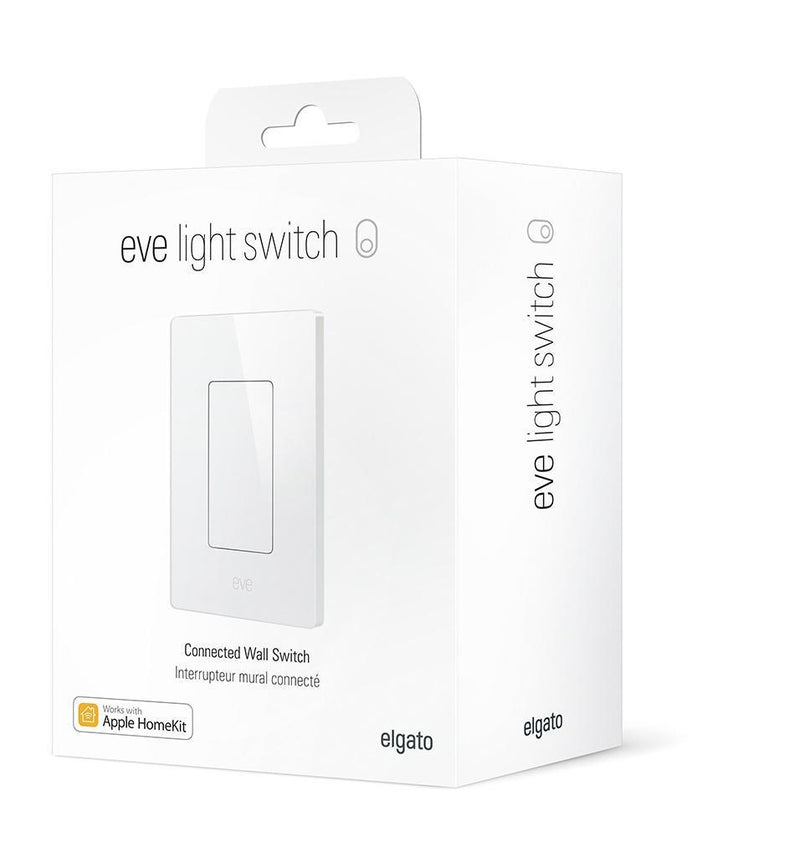 Eve Light Switch with Homekit Technology