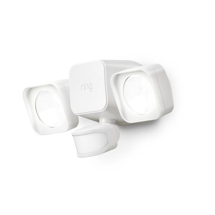 Ring Smart Lighting Battery Powered Floodlight - White