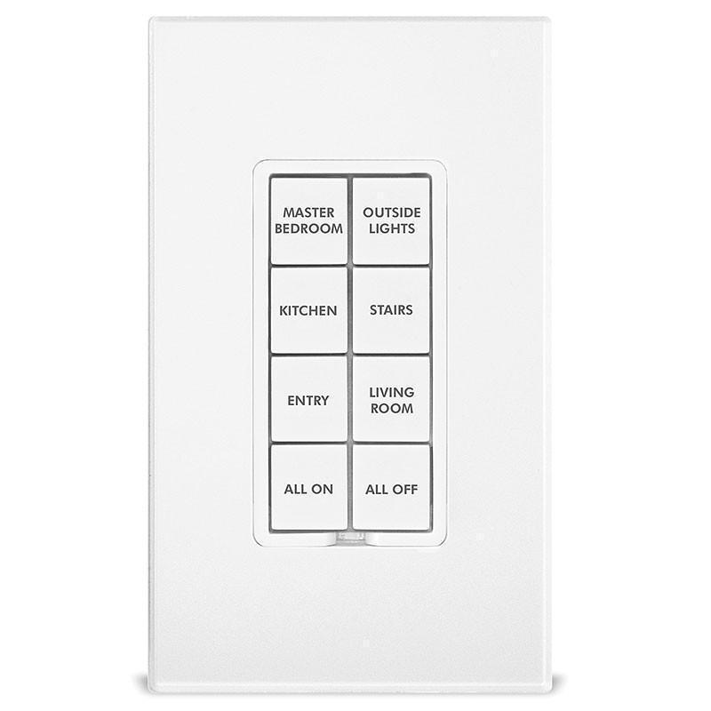 Insteon Popular Button Change Kit for Insteon Keypads, 50-Button - White