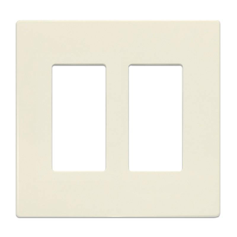 Insteon Screwless Wall Plate for Paddle Switches, 2-Gang