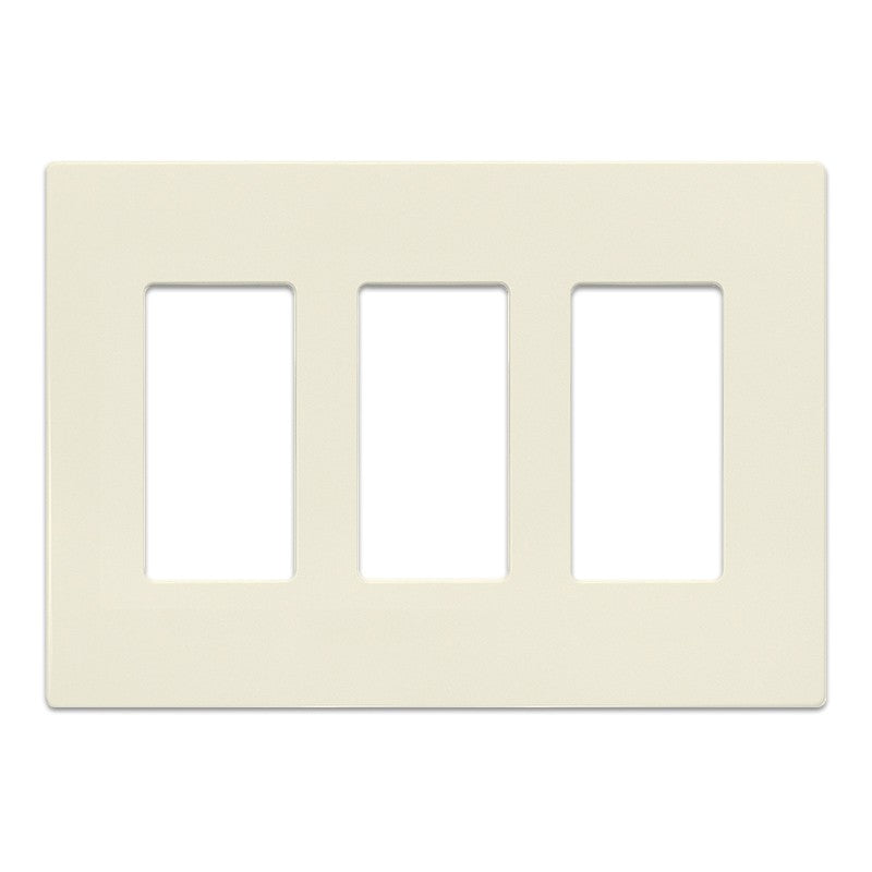 Insteon Screwless Wall Plate for Paddle Switches, 3-Gang