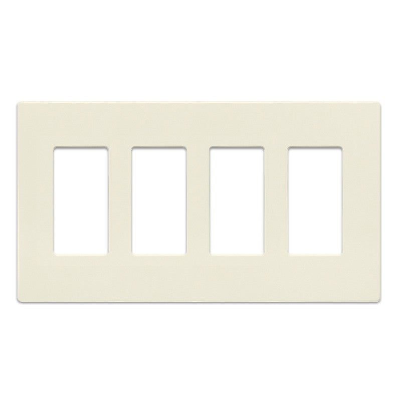 Insteon Screwless Wall Plate for Paddle Switches, 4-Gang