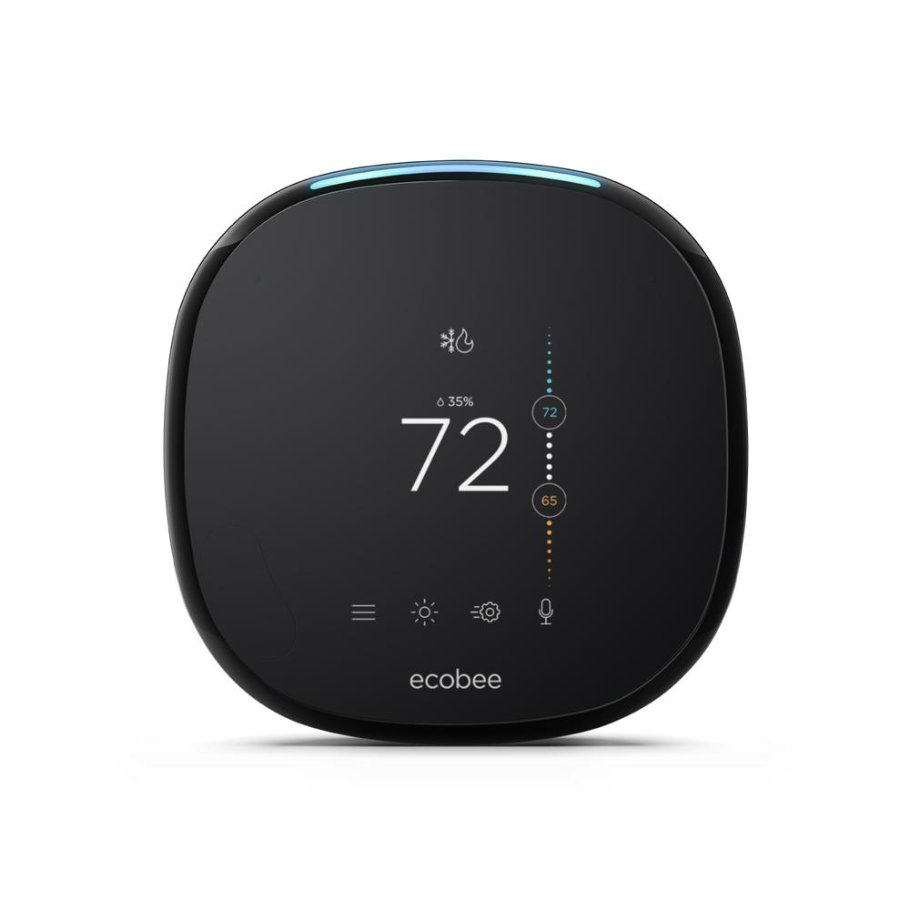 ecobee4 Wi-Fi Smart Thermostat with Built-In Alexa Voice Service