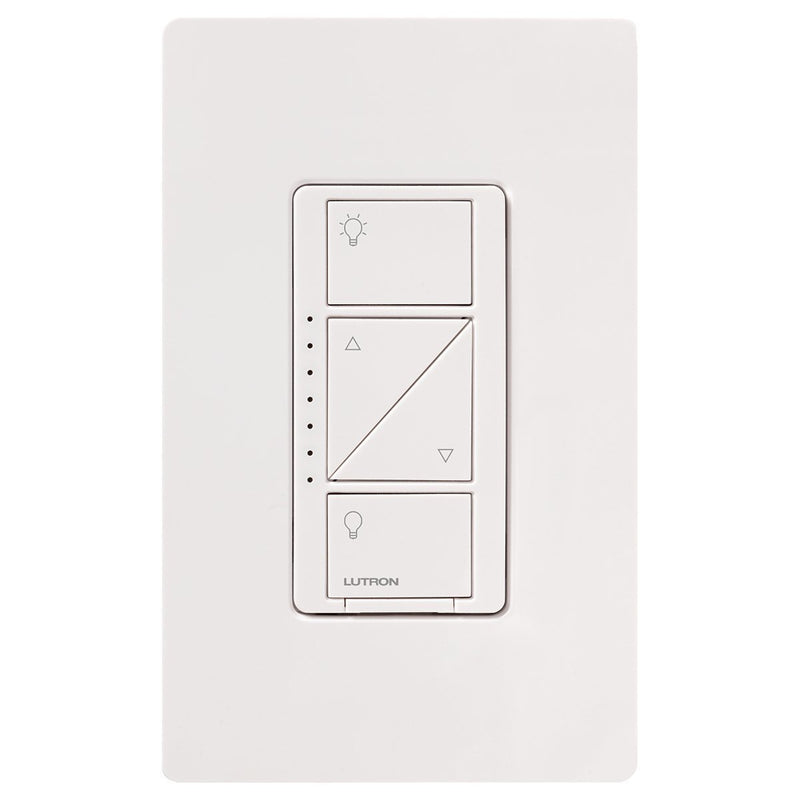Lutron PD-6WCL-WH Caseta Wireless In-Wall Dimmer