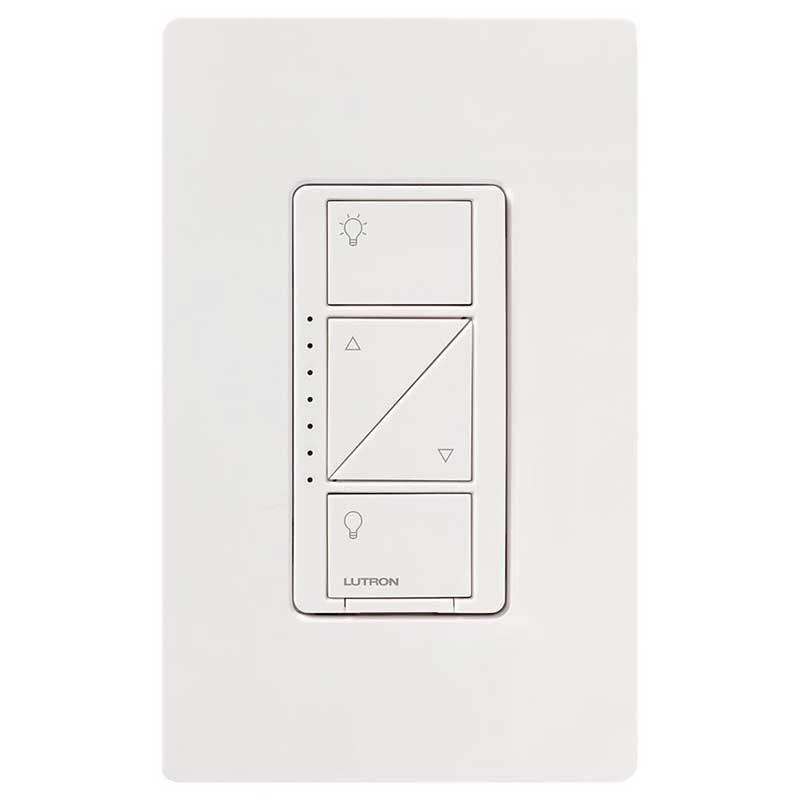 Lutron Caseta Wireless Dimmer & Pico Remote Kit, White