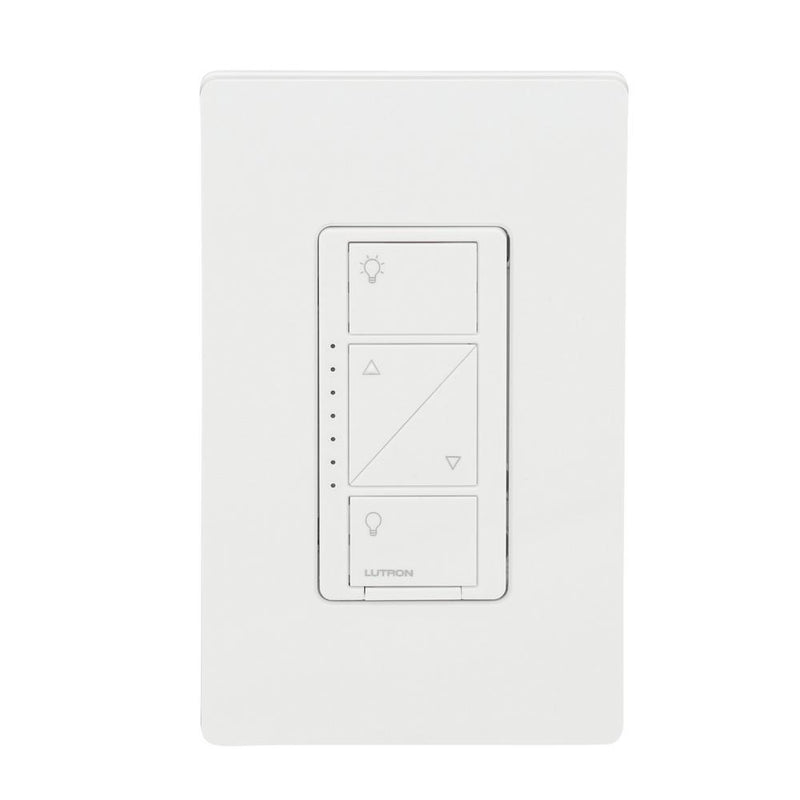 Lutron Caseta Wireless Dimmer Kit with Smart Bridge, White