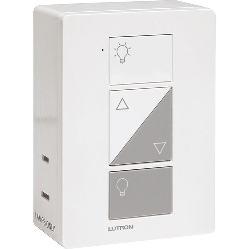 Lutron Caseta Wireless Plug-In Dimmer with Pico Remote, White