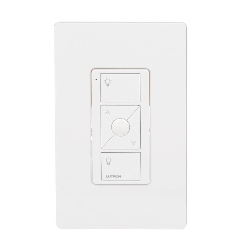 Lutron PJ2-WALL-WH-L01 Pico Remote with Wall Mount, White