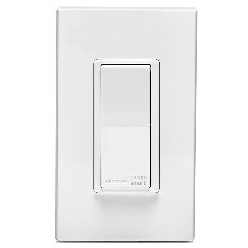 Leviton DW15S-1BZ Decora Smart Wi-Fi 15 Amp Universal LED/Incandescent Switch