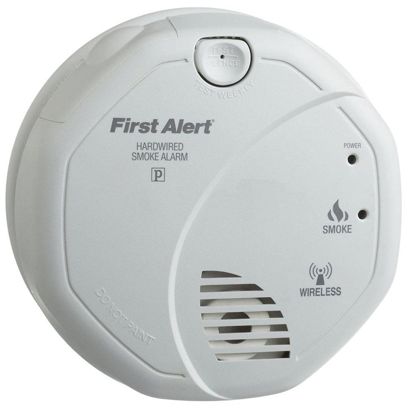 First Alert Onelink Wireless Interconnect Hardwired Smoke Alarm