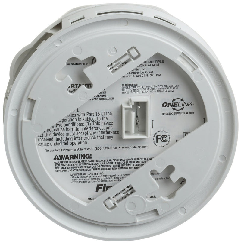 First Alert Sa520 Wireless Interconnect Hardwired Smoke Alarm